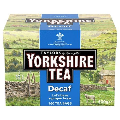Yorkshire tea decaf 160 bags £1.61 @ Tesco express
