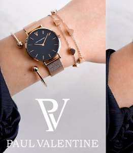 50% off sale select items @ Paul valentine - watches from £60