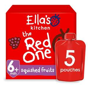 Ella's Kitchen The Red One multipack and other varieties £2.62 @ Tesco