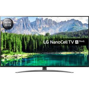LG 65SM8600PLA (2019) LED HDR NanoCell 4K Ultra HD Smart TV,  with Freeview Play/Freesat HD Free 6 Year Guarantee - £874 @ Richer Sounds