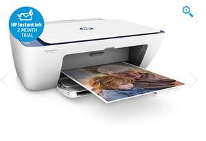 HP DeskJet 2630 Wireless All-in-One Printer with 2 months Instant Ink Trial £9 @ HP & more in OP