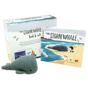 The Storm Whale Children's Book by Benji Davies + Soft Toy Whale £6.99 Delivered @ Books2door