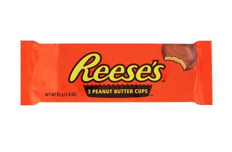 Reese's 3 peanut butter cups 51g 60p @ Waitrose & partners