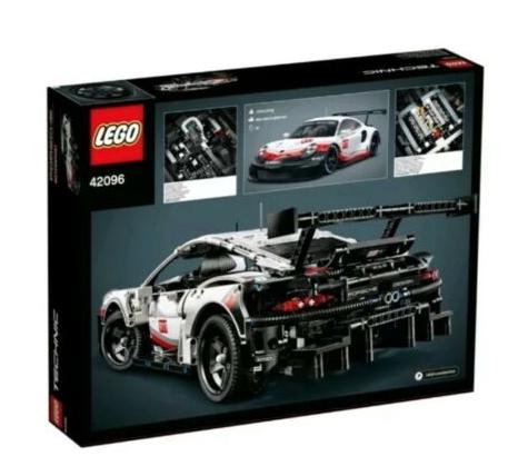 LEGO Technic Porsche 911 RSR Car Replica Model (42096) -BRAND NEW- £98.98 delivered besalel121108 Ebay