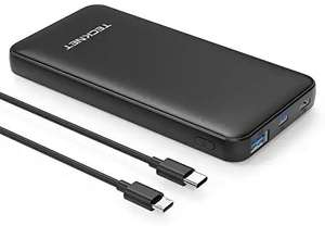 Lightning deal - TeckNet 10000mAh 18W Power Delivery USB C  £11.04 prime / £15.53 non prime Sold by BLUETREE and Fulfilled by Amazon