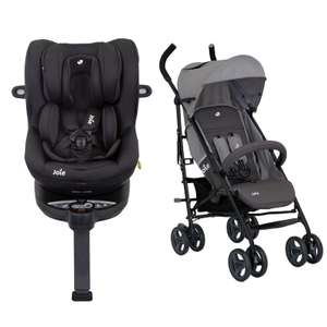 Joie I-spin 360 I-size + Joie Lx stroller £280 @ online4baby