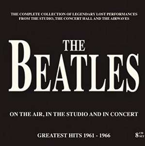 The Beatles - On The Air,In The Studio and In Concert 8CD Box Set @ Amazon [£9.99 with Prime. £11.99 without]