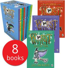 The Worst Witch Collection - 8 Books £10.98 Delivered @ TheBookPeople.co.uk