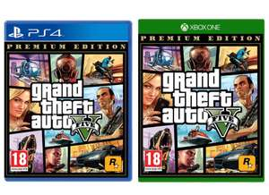 Grand Theft Auto V Premium Edition (PS4 / Xbox One) - £15.99 delivered @ Base