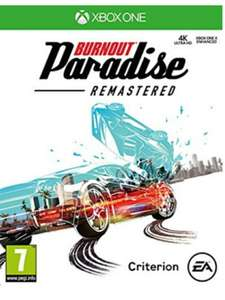 Burnout Paradise Remastered HD (Xbox One) for £8.85 Delivered @ Base