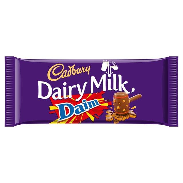 Cadbury Dairy Milk Daim Chocolate Bar 120g - £1 @ Morrisons