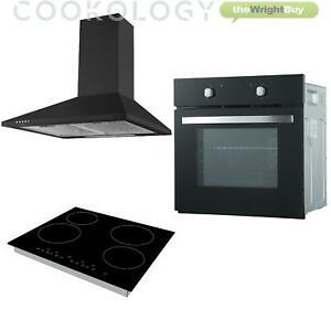Fan Oven, Touch Ceramic Hob & Cooker Hood Pack - £271.99 @ thewrightbuyltd eBay