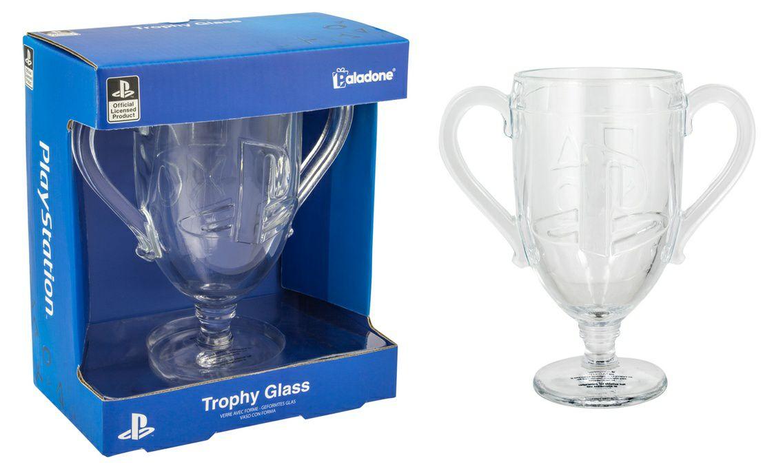 PlayStation Trophy Glass 30% off £10.98 Delivered @ Groupon