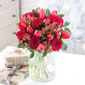 Extra 20% off Christmas Bouquets with Voucher Code @ Blossoming Gifts