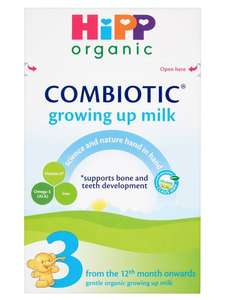 Hipp Organic Growing Up Milk - Stage 3, 2 for £11 @ Morrisons