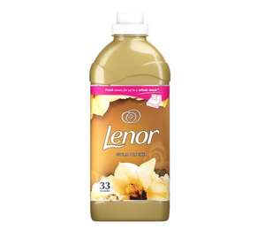 Lenor fabric conditioner Gold orchid / Ruby jasmine 33 wash £2 at Sainsbury's instore Guildford