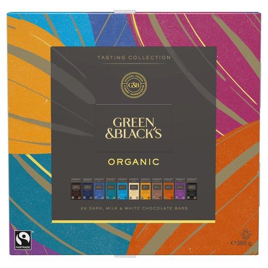 Green & Black's Organic Tasting Collection Boxed Chocolates, 395g   £5.50  Prime / £9.99 Non Prime