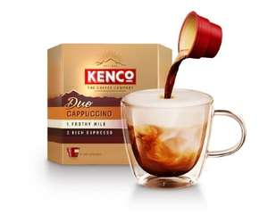 Kenco Duo Cappuccino/Flat White/Latte Instant Coffee 6 Pack - £2 @ Asda