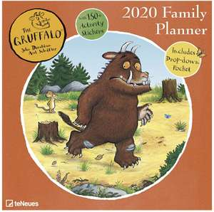 The Gruffalo 2020 Family Planner Calendar with Stickers - £3.99 / £6.98 Delivered @ Book People