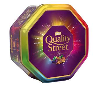 Quality Street tin 1kg £7 @ Asda