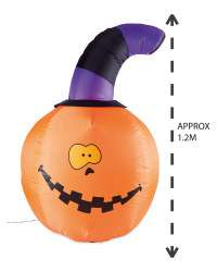 20% off Halloween 1.2m Inflatable Pumpkin  plus Free Delivery with Code @ Aldi