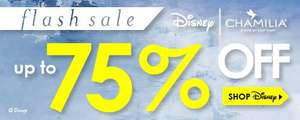 up to 75% off of Disney Jewelry @ Chamillia