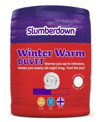Winter duvet all seasons single size only £11.79 @ Sleepseeker