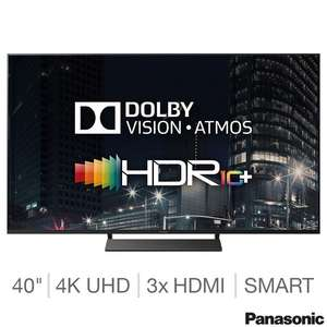 Panasonic 40GX800B 40 Inch 4K Ultra HD Smart TV £549.99 @ Costco