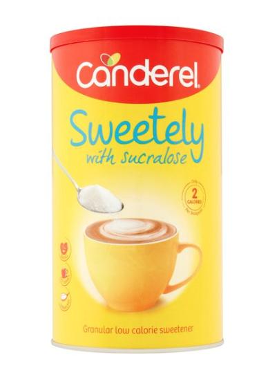 Canderel Sweetely Canister 125G £1  @ Tesco