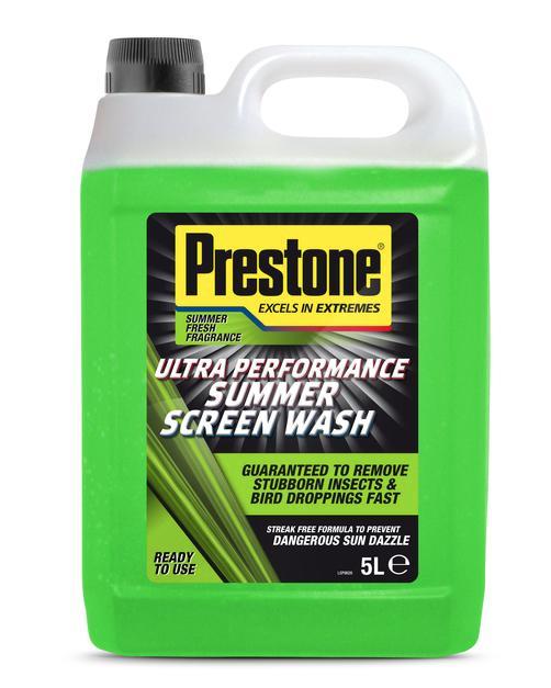 £1 Prestone summer screen wash 5l @ Wilko Hillosborough