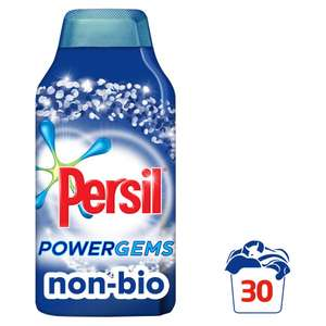 Persil Non Bio Powergems 30 wash was £11 now £5 (+£2 C&C) @ Wilko