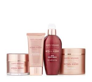 Judith Williams Retinol Science 4 Piece Face & Body Collection - £49.93 Delivered @ QVC