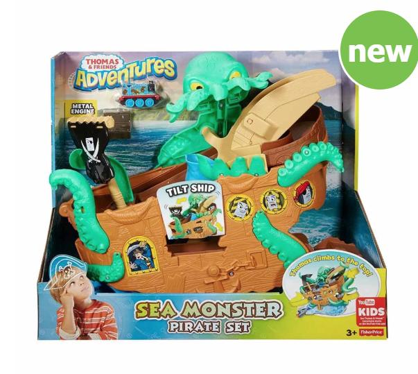 Thomas Sea Monster Pirate Set - £15 @ Wilko - Bury Rock