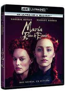 Mary Queen of Scots 4K Ultra HD + Blu-ray @ Amazon Spain - £13.39 (£12.88 with fee free card)