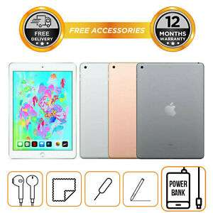 "Apple iPad 6th Generation 32GB 128GB 9.7"" WiFi Only All Colours 2018 Model £246.49 hitechelectronicsuk Ebay"