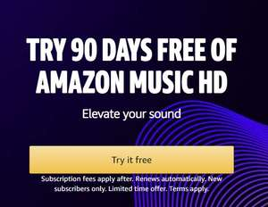 90 DAYS FREE OF AMAZON MUSIC HD for Prime Student Via TOTUM (New Subscribers Only)