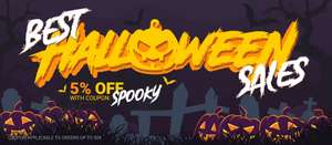 Halloween Sale at Gamivo - 5% off using code SPOOKY