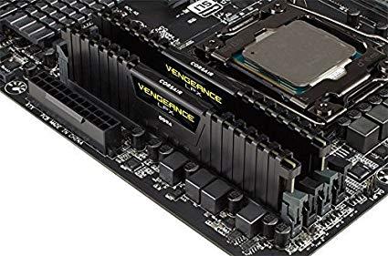 Corsair 163301 Vengeance LPX 32 GB (2 x 16 GB) DDR4 3200 MHz C16 XMP 2.0 High Performance Desktop Memory Kit, Black