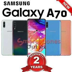 Samsung Galaxy A70 - mobiles4.less - ebay - £319.99