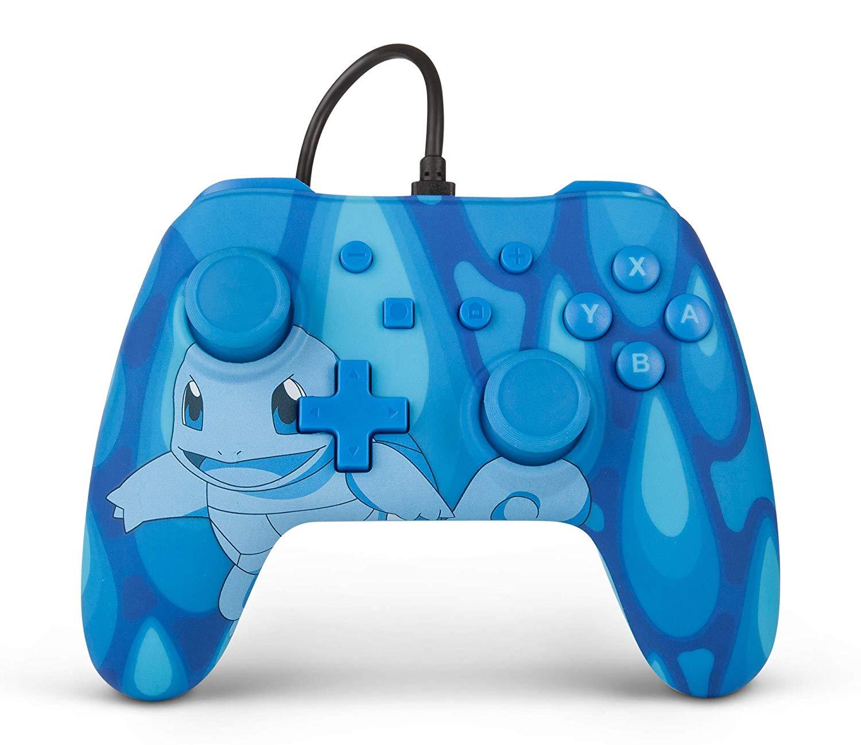 Pokémon Wired Controller For Nintendo Switch - (Torrent Squirtle / Charmander Blaze / Bulbasaur Overgrow / Pikachu Static) £22 @ ASDA