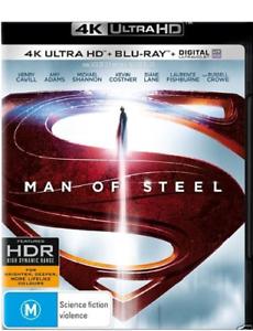 Man Of Steel - 4K+Blu-ray Region B - Like New £8.99 delivered @ jims-vinyl-media-store ebay