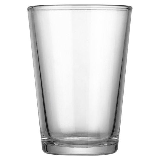Tesco water glass 25p