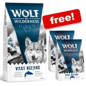 Wolf of the Wilderness 12+2kg - £44.99 Delivered via Zoo Plus