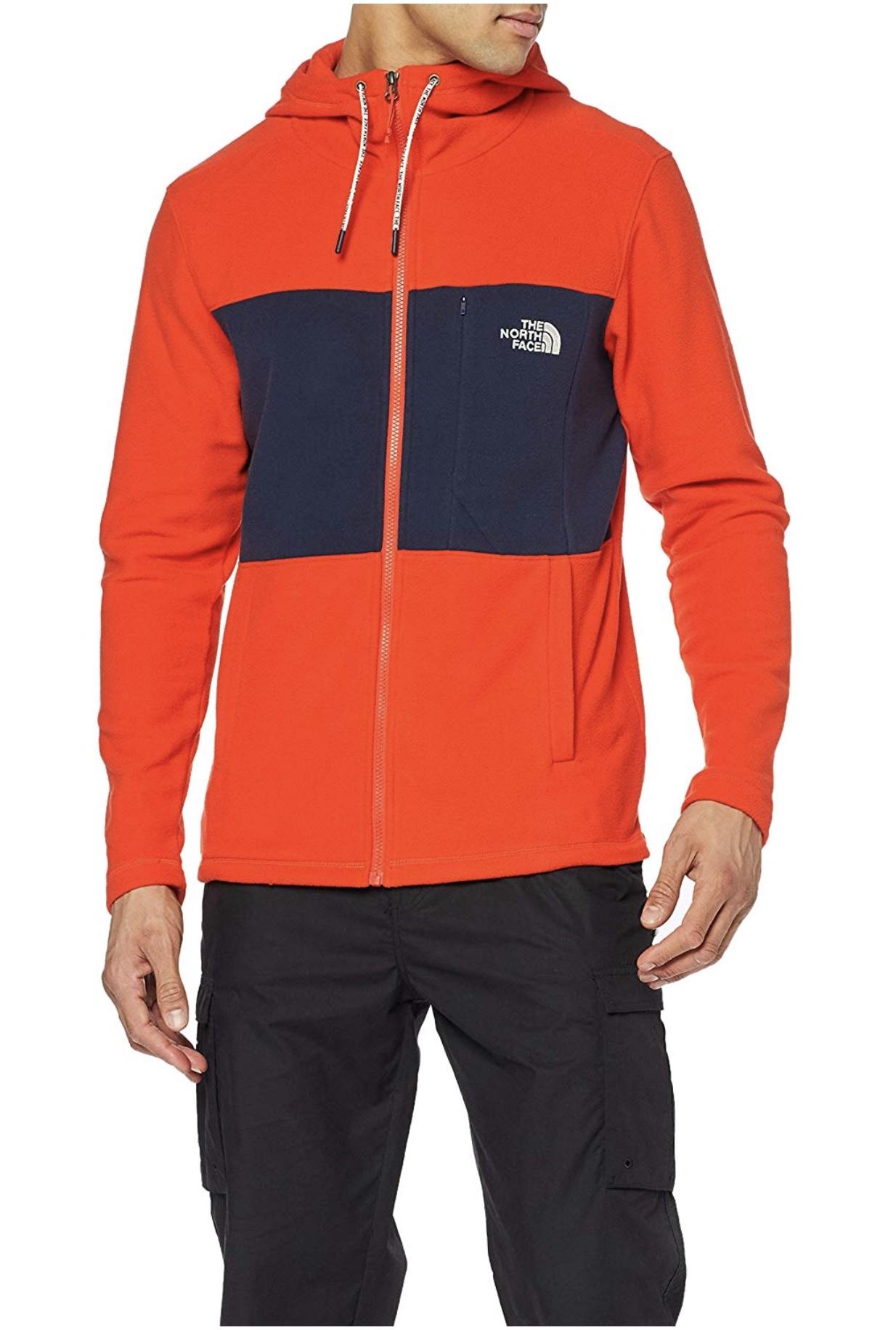 Men's Blocked Tka 100 Full Zip Hoodie Size M Only - £27.22 @ Amazon