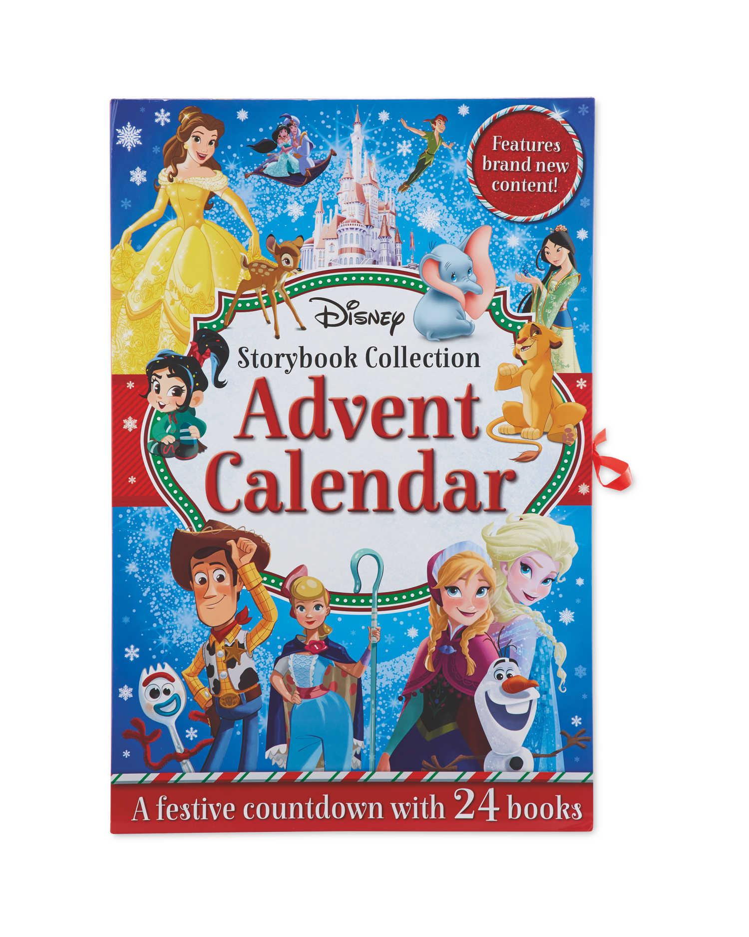 Disney Book Advent Calendar - pre-order now/ instore 03/11 £9.99 (£2.95 delivery) @ Aldi