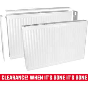 Clearance of Qual-Rad radiators (50% off) from £4.87 at Toolstation