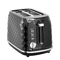 Black diamond effect Toaster- 2 slice for £13 @ George free C&C
