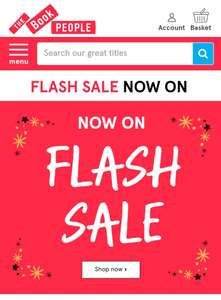 Extra 25% Off Everything Including Flash Sale Items @ Book People