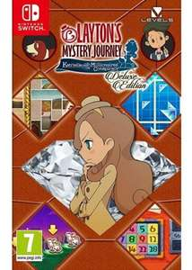Layton's Mystery Journey: Katrielle and the Millionaires' Conspiracy - Deluxe Edition (Nintendo Switch) £28.85 @ Base
