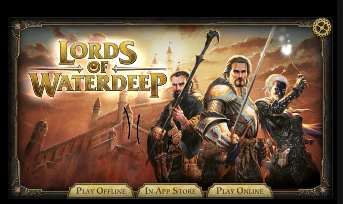 Lords Of Waterdeep - IOS £2.99 @ Apple Store